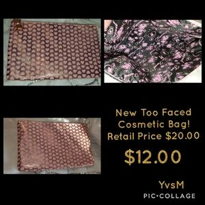 TOO FACED New Cosmetic Bag